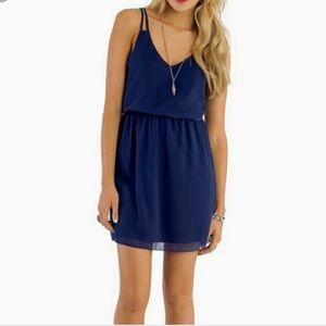 Tobi Navy Blue Dress